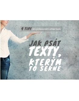 Jak psát texty, kterým to sekne