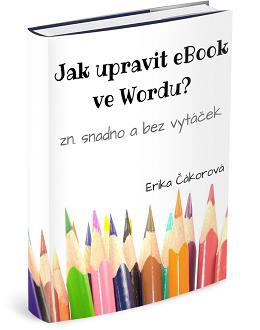Jak upravit eBook ve Wordu?