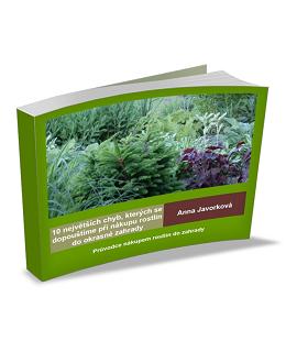 10 největších chyb, kterých se dopouštíme při nákupu rostlin do okrasné zahrady