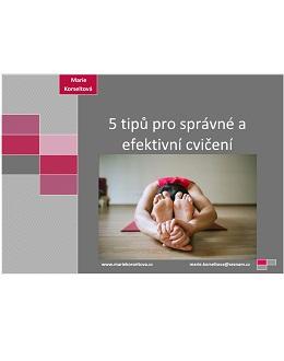 5 tipů pro správné cvičení