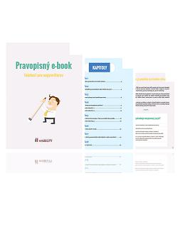 Pravopisný e-book (nielen) pre copywriterov
